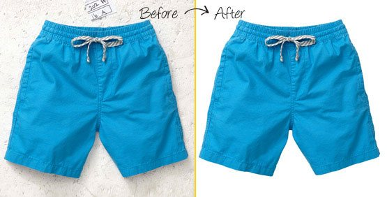 clipping path for clothes