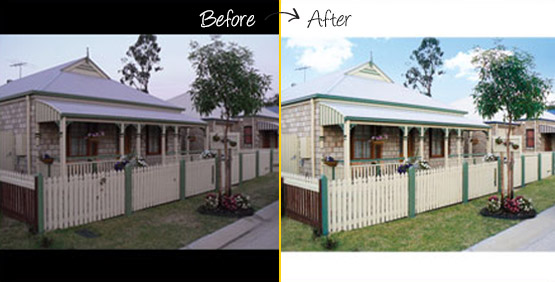 Real Estate Photo Editing
